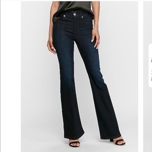 Express High Waisted Slim Flare